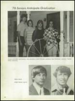 1976 Baird High School Yearbook Page 20 & 21