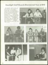 1976 Baird High School Yearbook Page 66 & 67
