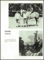 1972 Ojai Valley School Yearbook Page 84 & 85