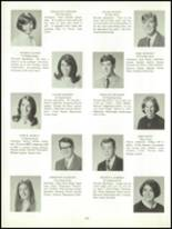 1969 Belmont High School Yearbook Page 106 & 107