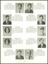 1969 Belmont High School Yearbook Page 110 & 111