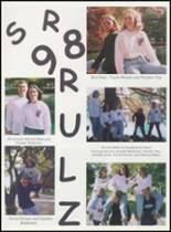 1998 Mulhall-Orlando High School Yearbook Page 20 & 21