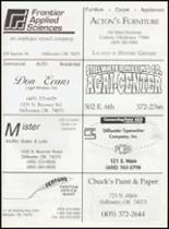 1998 Mulhall-Orlando High School Yearbook Page 82 & 83