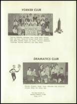 1957 Otego Central School Yearbook Page 42 & 43