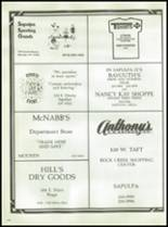 1986 Mounds High School Yearbook Page 122 & 123