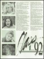 1992 Northern High School Yearbook Page 40 & 41
