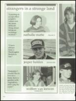 1992 Northern High School Yearbook Page 166 & 167