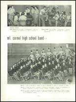 1954 Mt. Carmel High School Yearbook Page 26 & 27