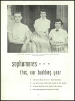 1954 Mt. Carmel High School Yearbook Page 40 & 41