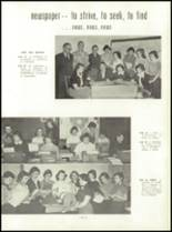 1954 Mt. Carmel High School Yearbook Page 68 & 69