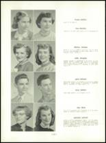 1954 Mt. Carmel High School Yearbook Page 86 & 87