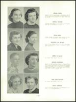 1954 Mt. Carmel High School Yearbook Page 90 & 91