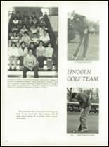 1980 Lincoln Community High School Yearbook Page 130 & 131