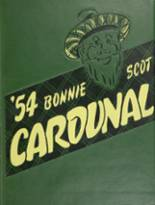 1954 Yearbook Dundee Community High School