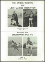 1964 Athens Area High School Yearbook Page 142 & 143