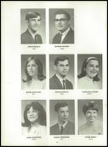 1969 Killingly High School Yearbook Page 20 & 21