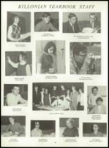 1969 Killingly High School Yearbook Page 98 & 99