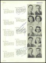 1943 Rocky River High School Yearbook Page 40 & 41