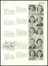 1943 Rocky River High School Yearbook Page 42 & 43