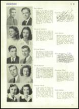 1943 Rocky River High School Yearbook Page 44 & 45