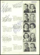 1943 Rocky River High School Yearbook Page 48 & 49