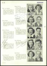 1943 Rocky River High School Yearbook Page 50 & 51