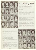 1948 Thomas Jefferson High School Yearbook Page 44 & 45