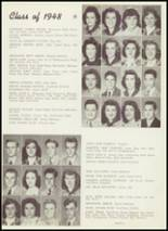 1948 Thomas Jefferson High School Yearbook Page 48 & 49