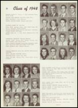 1948 Thomas Jefferson High School Yearbook Page 54 & 55