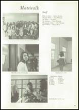 1971 Mattituck-Cutchogue High School Yearbook Page 48 & 49