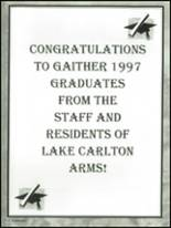 1997 Gaither High School Yearbook Page 316 & 317