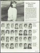 1986 Sheridan High School Yearbook Page 110 & 111