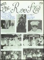 1980 Holy Trinity High School Yearbook Page 128 & 129