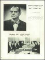 1956 Mansfield High School Yearbook Page 14 & 15