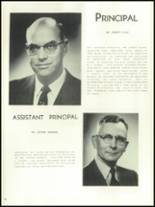 1956 Mansfield High School Yearbook Page 16 & 17