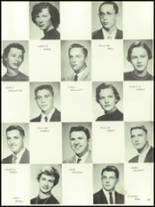 1956 Mansfield High School Yearbook Page 42 & 43