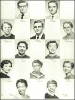 1956 Mansfield High School Yearbook Page 56 & 57