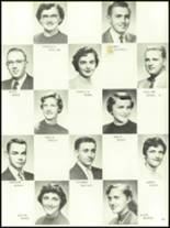 1956 Mansfield High School Yearbook Page 62 & 63