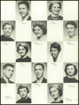 1956 Mansfield High School Yearbook Page 66 & 67