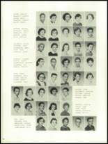 1956 Mansfield High School Yearbook Page 98 & 99
