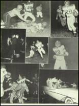 1956 Mansfield High School Yearbook Page 108 & 109