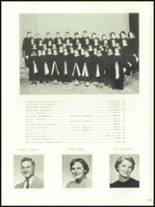 1956 Mansfield High School Yearbook Page 114 & 115