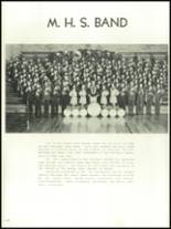 1956 Mansfield High School Yearbook Page 118 & 119