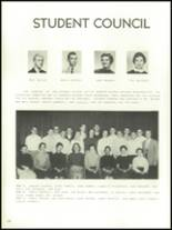 1956 Mansfield High School Yearbook Page 126 & 127