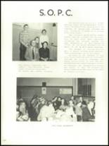 1956 Mansfield High School Yearbook Page 128 & 129