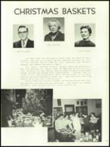 1956 Mansfield High School Yearbook Page 132 & 133
