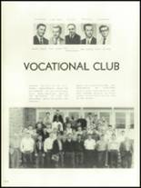 1956 Mansfield High School Yearbook Page 134 & 135