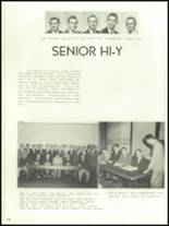 1956 Mansfield High School Yearbook Page 138 & 139