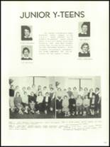 1956 Mansfield High School Yearbook Page 140 & 141