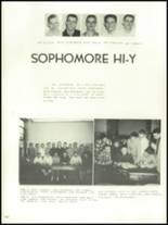 1956 Mansfield High School Yearbook Page 142 & 143